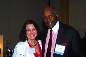 The Honorable Vanessa Ruiz of the D.C. Court of Appeals and Vernon Jordan