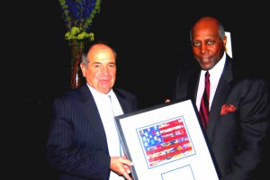 Bruce McLean and Vernon Jordan