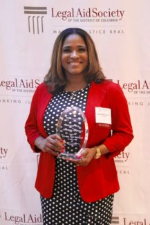 2018 Klepper Prize for Volunteer Excellence Honoree Jahnisa Tate Loadholt of Alston & Bird