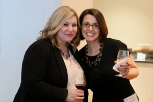 Supervising Attorney Meridel Bulle-Vu (r) with Staff Attorney Jamie Sparano (l)